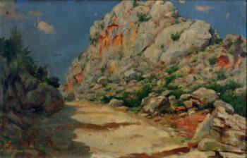 Paisaje Montanoso | Gillermo Gomez Gil | oil painting