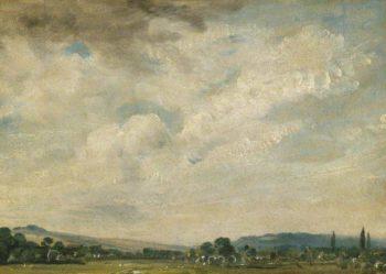 Harnham Ridge Near Salisbury | John Constable | oil painting