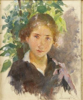 Portrait of a young girl | Hanna Hirsch Pauli | oil painting