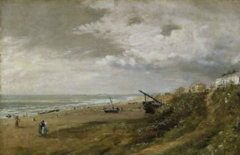 Hove Beach | John Constable | oil painting