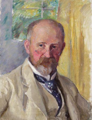 Sad Georg | Hanna Hirsch Pauli | oil painting