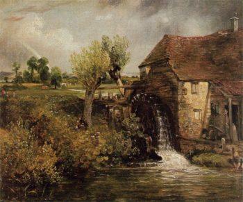 Parhams Mill Gillingham Dorset   John Constable   oil painting