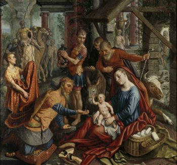 The Adoration of the Magi. ca. 1560 | Pieter Aertsen | oil painting