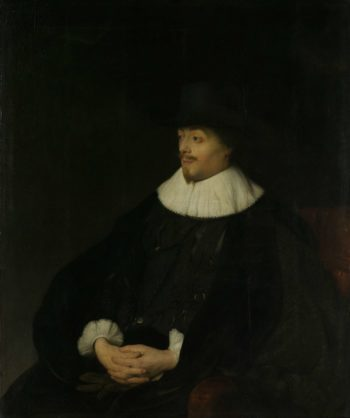 Portrait of Constantijn Huygens. ca. 1628 - ca. 1629 | Jan Lievens | oil painting