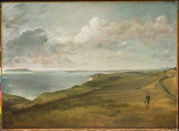 Weymouth Bay from the Downs above Osmington Mills | John Constable | oil painting