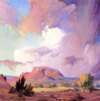 The Orphan Mesa | Ira Diamond Gerald Cassidy | oil painting