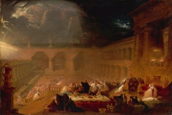 Belshazzar's Feast | John Martin | oil painting