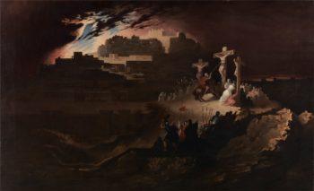Calvary | John Martin | oil painting