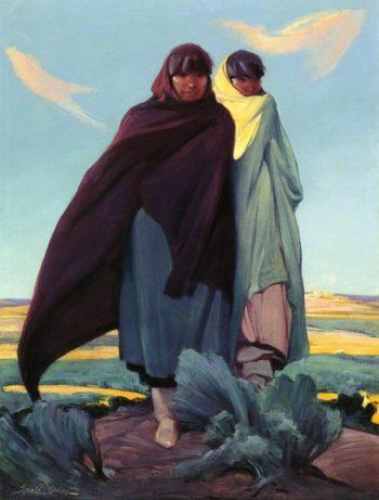 The Priestesses | Ira Diamond Gerald Cassidy | oil painting