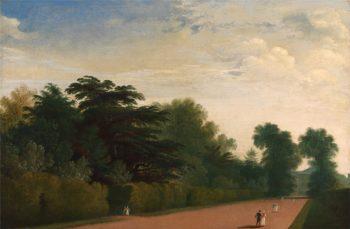 Kensington Gardens | John Martin | oil painting