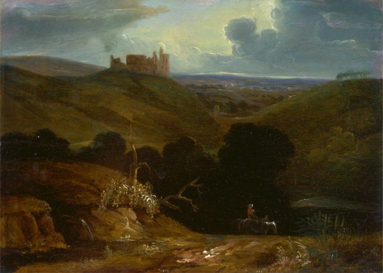 Landscape with a Castle | John Martin | oil painting
