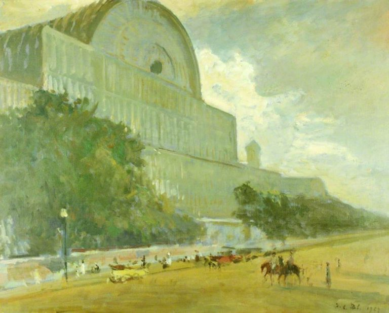 Crystal Palace | Jacques Emile Blanche | oil painting