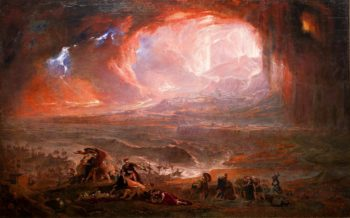 The Destruction of Pompeii and Herculaneum | John Martin | oil painting