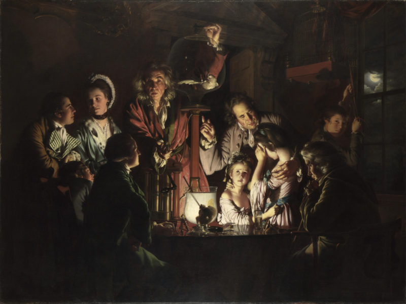An Experiment on a Bird in the Air Pump | Joseph Wright of Derby | oil painting
