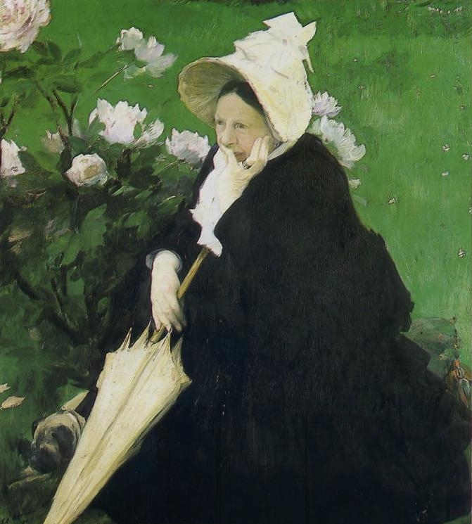 The Artists Mother | Jacques Emile Blanche | oil painting