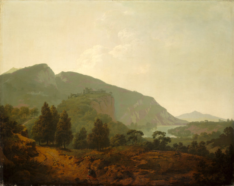 An Italian Landscape | Joseph Wright of Derby | oil painting