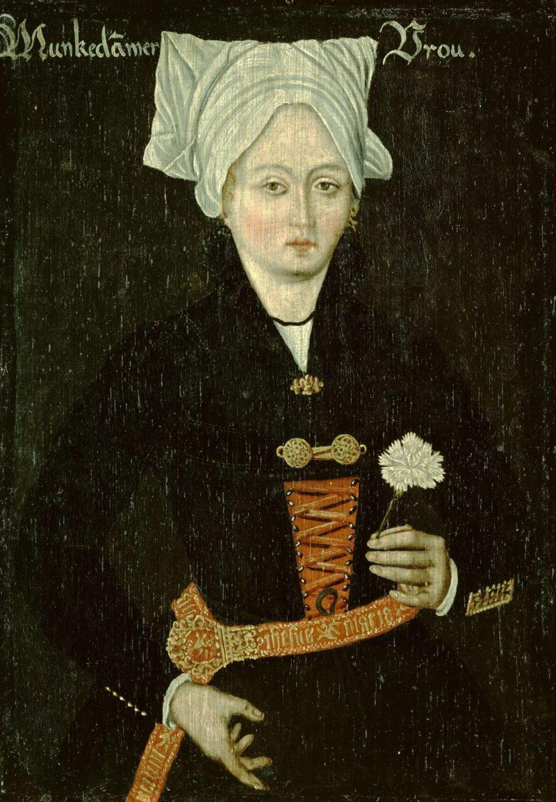 Woman Monnikendam. 1550 - 1574   Anonymous   oil painting