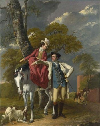 Mr and Mrs Coltman | Joseph Wright of Derby | oil painting