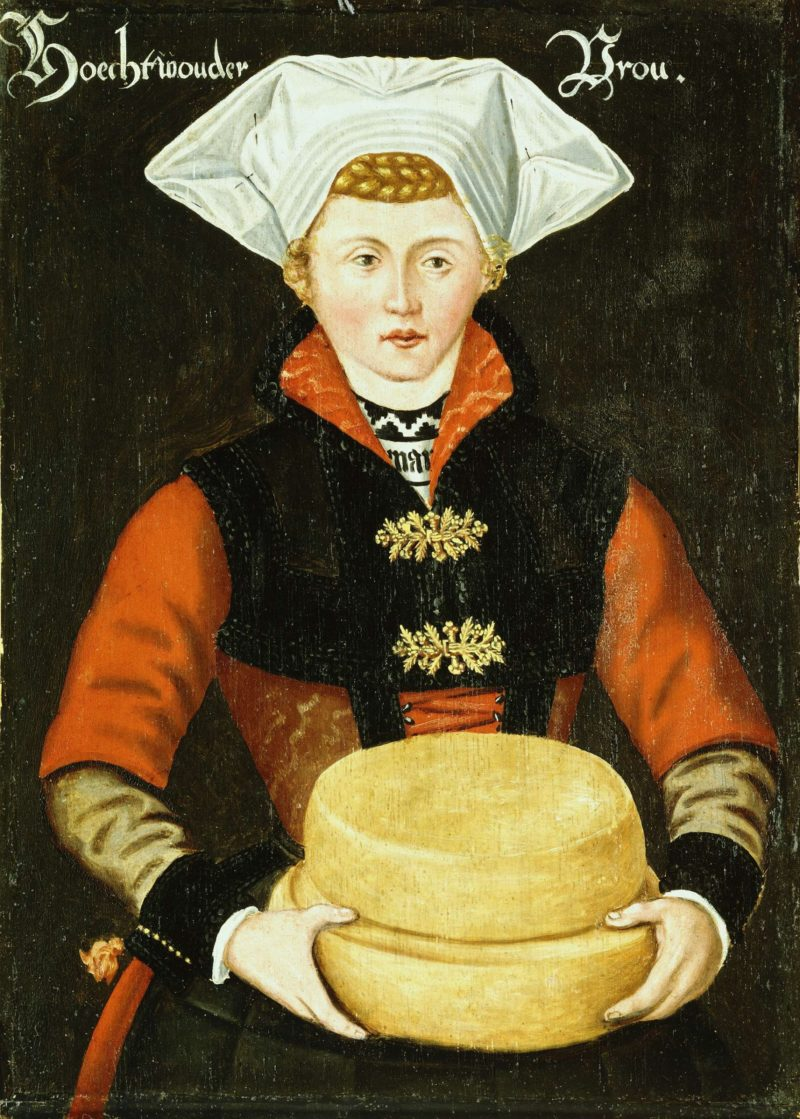 Woman Hoogwoud. 1550 - 1574 | Anonymous | oil painting