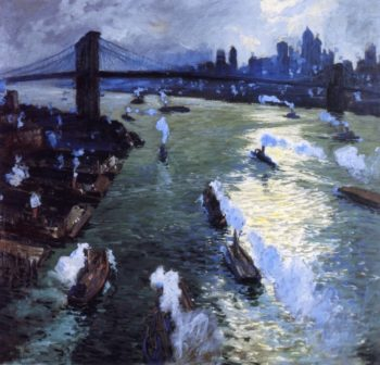 Path of Gold | Jonas Lie | oil painting