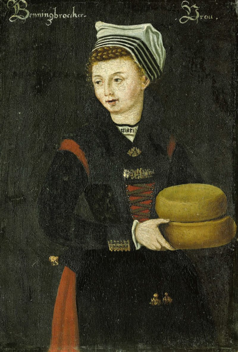Woman Benningbroek. 1550 - 1574 | Anonymous | oil painting