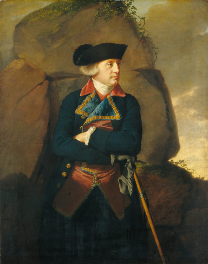 Portrait of a Gentleman   Joseph Wright of Derby   oil painting
