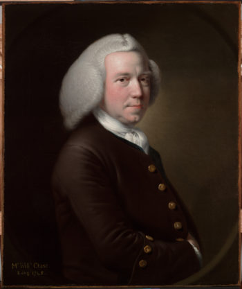 Portrait of Mr William Chase Snr | Joseph Wright of Derby | oil painting