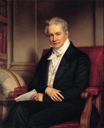 Alexander von Humboldt   Joseph Karl Stieler   oil painting