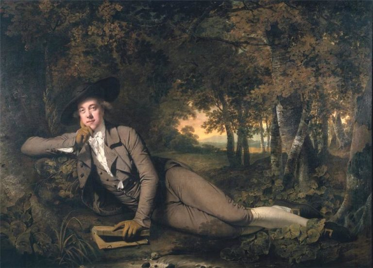 Sir Brooke Boothby | Joseph Wright of Derby | oil painting