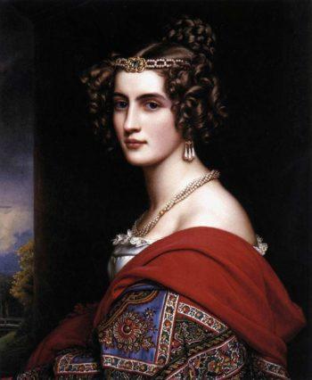 Amalie von Schintling   Joseph Karl Stieler   oil painting