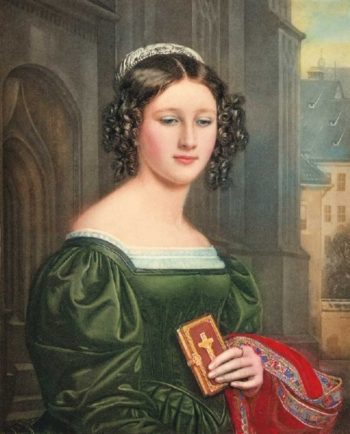 Anna Hillmayer   Joseph Karl Stieler   oil painting