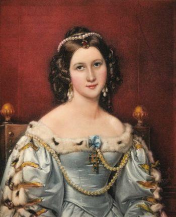 Charlotte von Hagn   Joseph Karl Stieler   oil painting