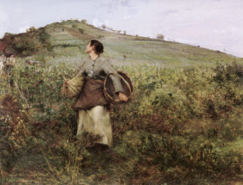 Harvest Time | Jules Bastien Lepage | oil painting