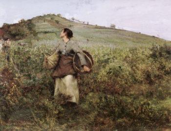 Harvest Time | Jules Bastien Lepage | oil painting