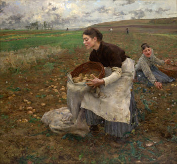 October | Jules Bastien Lepage | oil painting