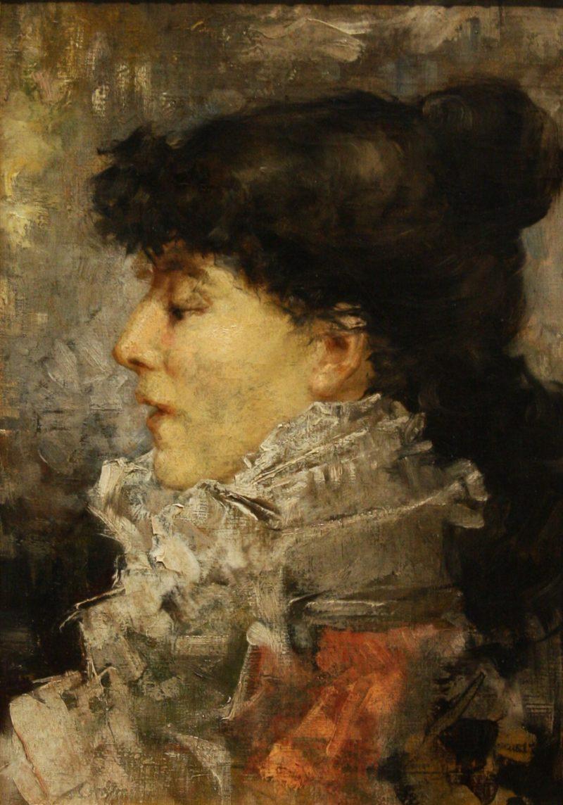 Sarah Bernhardt | Jules Bastien Lepage | oil painting