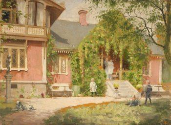 Summer Idyll | Knut Ekwall | oil painting