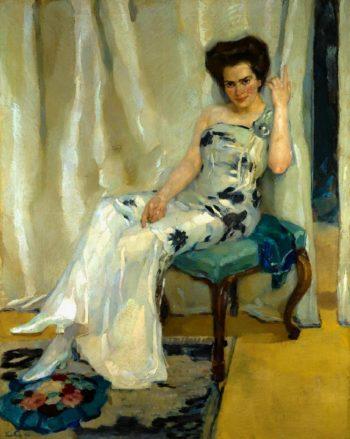 Cara Sophia Kohler | Leo Putz | oil painting