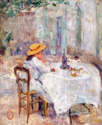 Breakfast in Provence | Lucien Abrams | oil painting