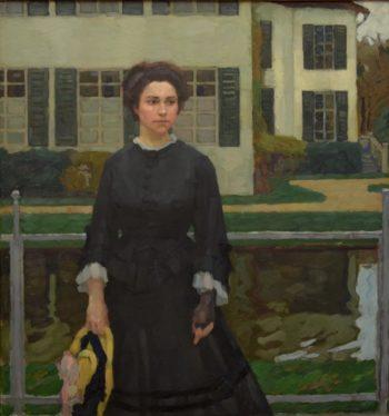 Frieda Blell | Leo Putz | oil painting