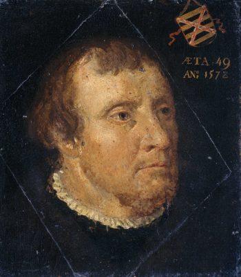 Willem Ploos van Amstel (1529-1603). Schout van Loosdrecht. 1578   Anonymous   oil painting