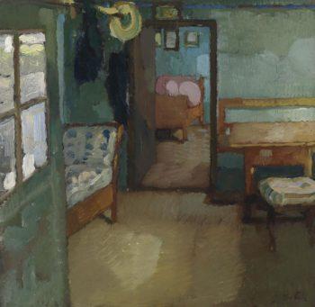 Interior | Leo Putz | oil painting