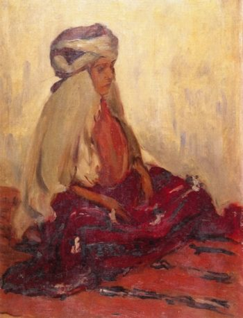 Kabyle Woman | Lucien Abrams | oil painting
