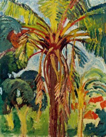 Palm Tree | Leo Putz | oil painting