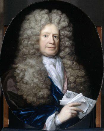 Portrait of Pieter van de Poel.. 1690 - 1729 | Arnold Boonen | oil painting