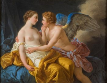 Amor and Psyche | Louis Jean Francois Lagrenee | oil painting