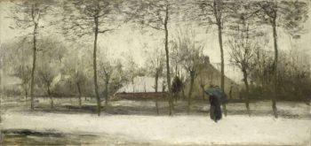 Winter Landscape. ca. 1875 | Willem Maris | oil painting
