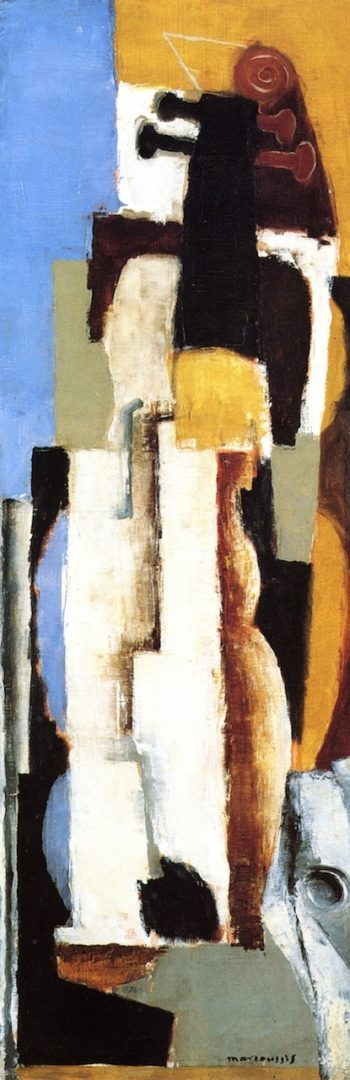 A Cello | Louis Marcoussis | oil painting