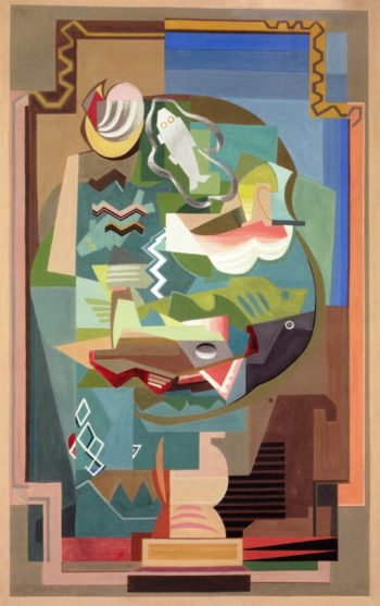 A Table | Louis Marcoussis | oil painting