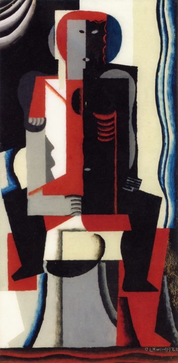 Couple | Louis Marcoussis | oil painting